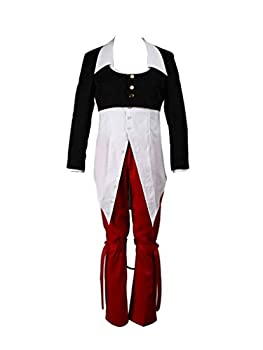 Mtxc Men s The King of Fighters Cosplay Costume Iori Yagami 1st Size Large Black