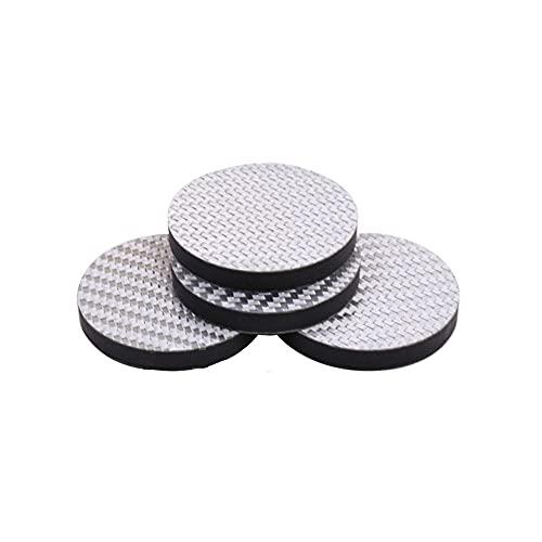 QWEEF Almohadilla de pie de Audio Puntos de pie de Amortiguador de amortiguadores, Juntas Antideslizantes para ponentes de Audio de Altavoz. para Altavoz de Audio de Reproductor de CD