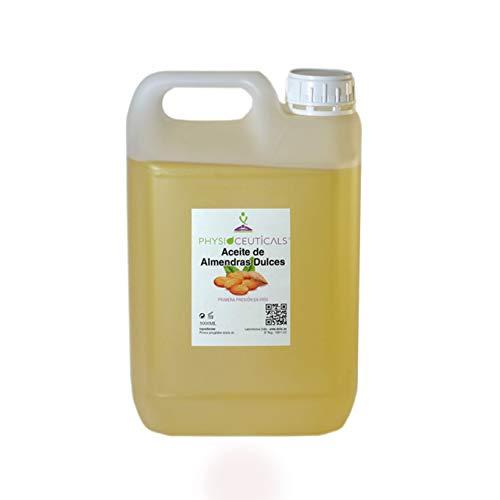 Aceite de Almendras Dulces 100% Puro PRIMERA PRESIÓN EN FRIO. 5 litros