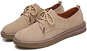 Hendyijbnjx Oxford Sale Shoes for San Francisco Mall Women Leather Flats Suede Oxf