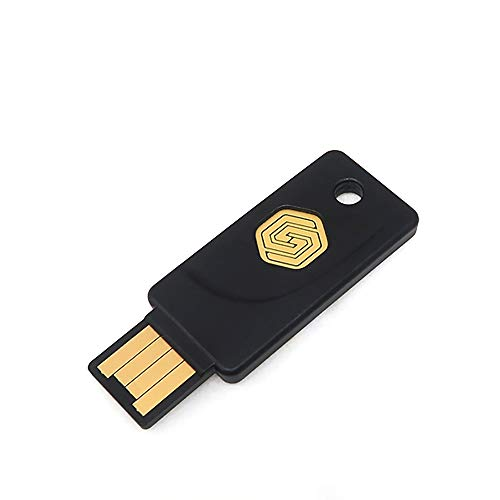 GoTrust Idem Key - A. USB Security Key FIDO2 Certified to The Highest Security Level L2. 2FA with USB-A and NFC interfaces. Works Across iPhone, Android and Computers.