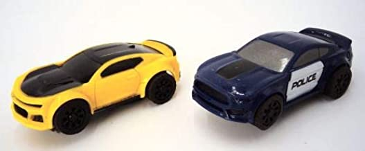 JJ_TOYS Police Chase Ho Scale Extra Replacement Slot Cars 2 Pack