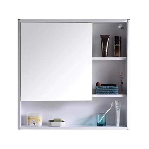 Spiegelkasten badkamer roestvrij stalen spiegelkast met Shelf wandhouder met losse kasten