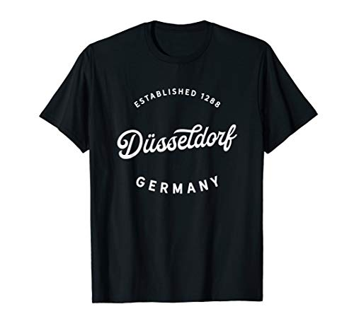 Düsseldorf Deutschland 1288 Geschenk Düsseldorf Germany Gift T-Shirt