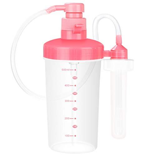 Supvox Detergente per Doccia Vaginale Kit per La Pulizia Della Vagina Doccia Anale Clistere a Pressione Manuale Riutilizzabile 500 Ml