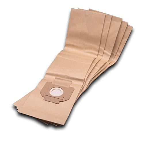 vhbw 5 Staubsaugerbeutel Filtertüten aus Papier passend für Staubsauger WAP/Alto SQ 450-11, SQ 450-21, SQ 450-31, SQ 490-31, SQ 550-11, SQ 550-1M
