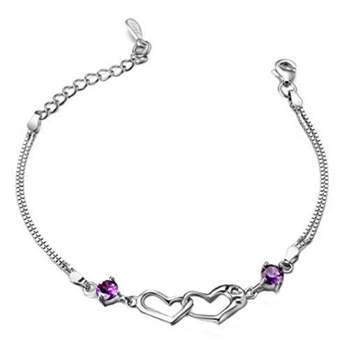 Cadeaux d'anniversaire beau bracelet réglable de mode #07