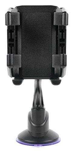 DURAGADGET Soporte De Coche para Smartphone HOMTOM HT17 Pro - 4G | Ulefone U007 Pro | Wolder WIAM #65 | Onix S506 Smartphone Libre | Mykronoz Zecircle | MyWiGo Uno | MWG 549 Pro - ¡Cómodo Y Práctico!