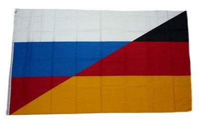 Fahne/Flagge Deutschland/Russland NEU 90 x 150 cm