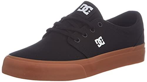 DC Shoes Trase TX, Zapatillas Hombre, Negro 56, 44.5 EU