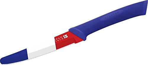 Scanpan SC51000847 Couteau, Bleu/Blanc/Rouge