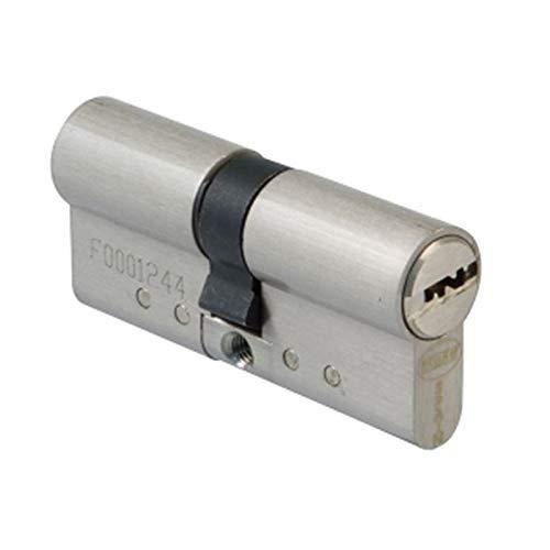 Amig 21546 Cilindro alta seguridad, cromo mate, 70 mm