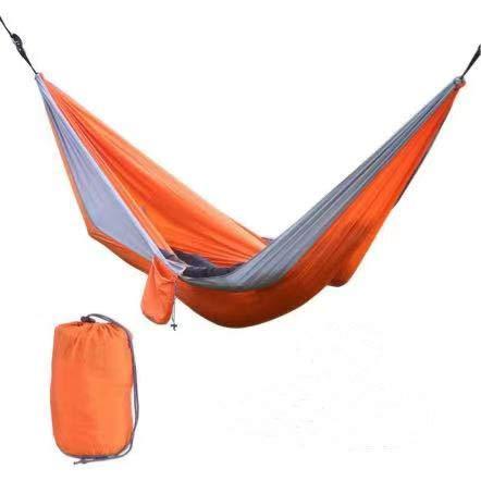 Amaca da campeggio ultraleggera da viaggio Iordan, capacità di carico 200 kg, 270 x 140 cm, amaca nylon paracadute ad asciugatura rapida