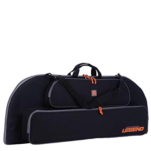Legend Archery Bowarmor 116 Compound Bow Case - Shoulder Strap, Soft Tricot and Foam Padding - Inside Length 44'