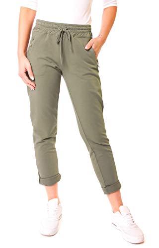 Easy Young Fashion dames Glencheck joggpants