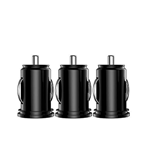 YIKXCF Cargador DE CARGER DE Cargo DE Dual USB 2.4A 2 Adaptador DE Carga DE Carga DE TELÉFONO DE Putos para TELÉFONOS SMARTOS (Plug Type : 3 Pack Standard)