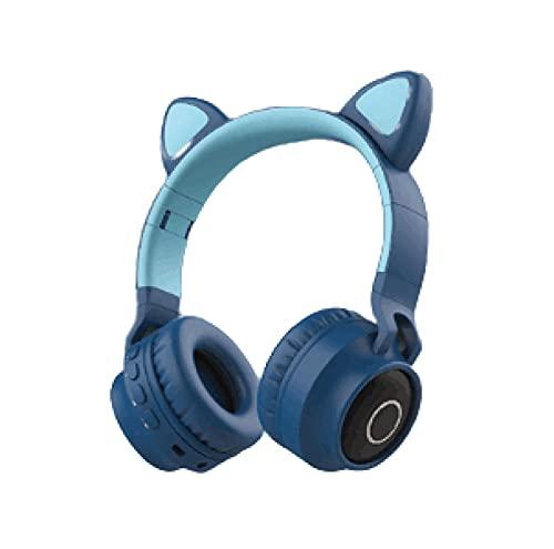 AOOF Cat Ears Bluetooth Headset Wireless...