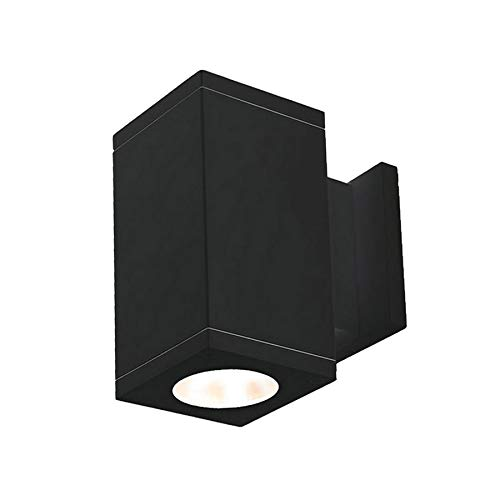 Wac Lightingcube Architectural 2 Light Led Outdoor Armed Sconce Wac Lighting Fixture Finish Graphite Dailymail