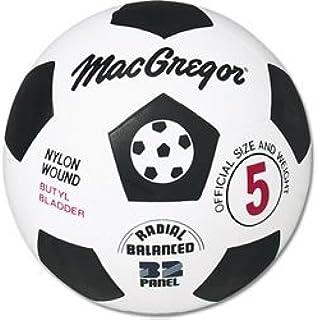 Macgregor Rubber Soccer Ball (Size 4): Amazon.es: Deportes y aire ...