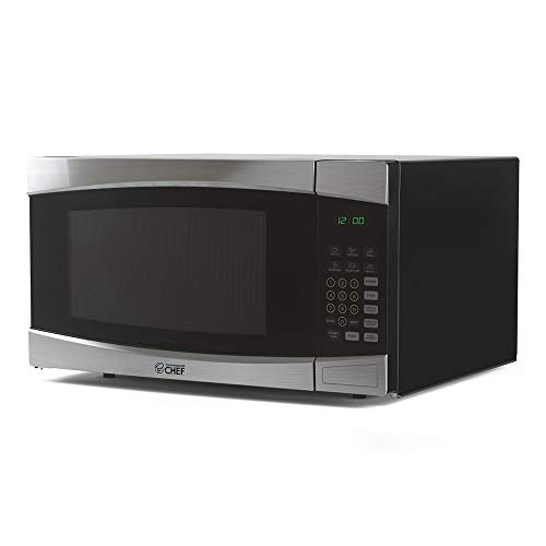 Commercial CHEF CHM16100S6C Microwave, STAINLESS STEEL