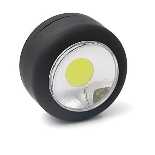 Linternas portátiles Al aire libre impermeable LED LED Luz de campamento Lámpara de campamento con imán y gancho Círculo Colgante Tienda Linterna Uso AAA