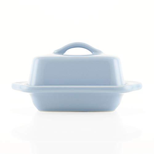 Chantal Covered Butter Dish, Mini, Glacier Blue