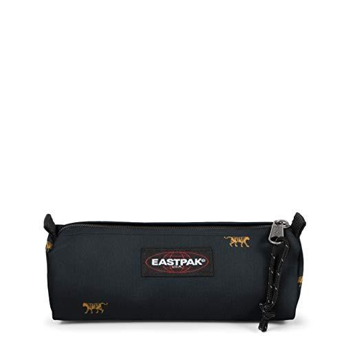 Eastpak Benchmark Single Estuche, 21 cm, Mini Tiger (Negro)