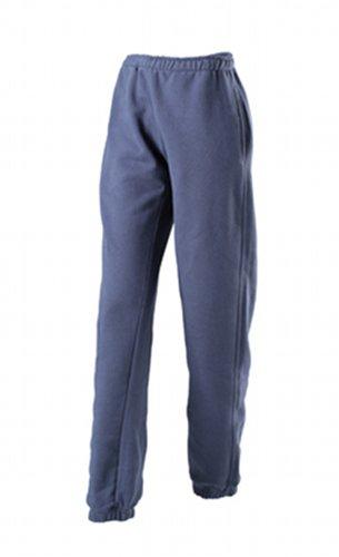 JAMES & NICHOLSON Laufhose Jogging Pantalons-Maternité Femme, Bleu (Navy), (Taille Fabricant: Small)