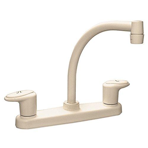 "Phoenix Faucets PF221101 Catalina Two-Handle 8"" Kitchen Faucet with Hi-Arc Spout - Biscuit"
