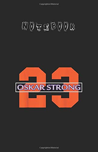 Notebook: Flyers Fight Against Cancer Oskar Strong Hockey Fight Lined Notebook Size 5.5in x 8.5in x 120 Pages White Paper Blank Journal Notebook with Black Cover Perfect Gift For Kids or Men and Women