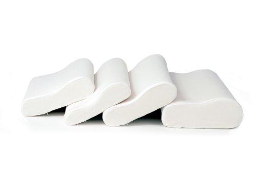 Sissel Erwachsene Kissen Soft Curve Nackenkissen, weiß, S