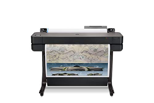 "HP DesignJet T630 Large Format Wireless Plotter Printer - 36"", with Modern Office Design (5HB11A)"