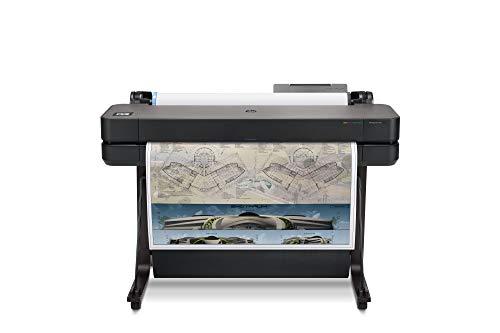 HP DesignJet T630 Large Format Wireless Plotter Printer - 36', with Modern Office Design (5HB11A)