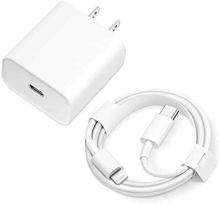 iPhone 12 Charger USB C Fast Charger 20W PD USB C Wall Charger with 3FT Type C to Lightning product image