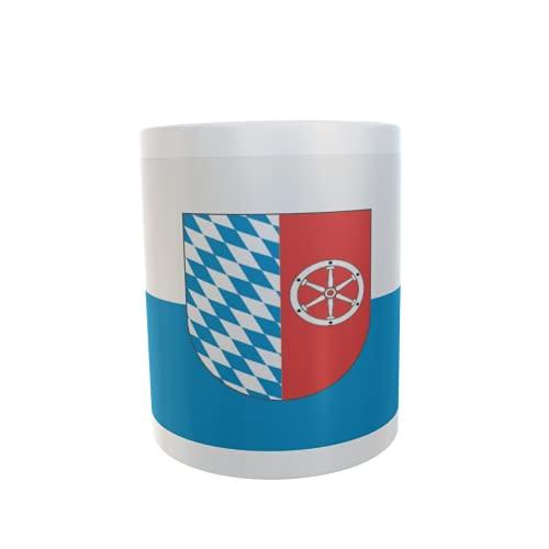 U24 Tasse Kaffeebecher Mug Cup Flagge Neckar-Odenwaldkreis