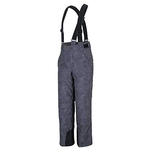 Ziener Ando Junior Ski Pant - Grey Night camo