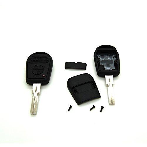 B1 Carcasa Llave Coche Compatible BMV Cabeza Ancha Carcasa para Llave con Mando a Distancia para BMW X3 X5 Z3 Z4 E36 E38 E39 E46