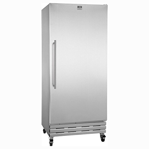 Kelvinator KCBM180FQY 18 Cubic Feet Reach-In Freezer with Casters