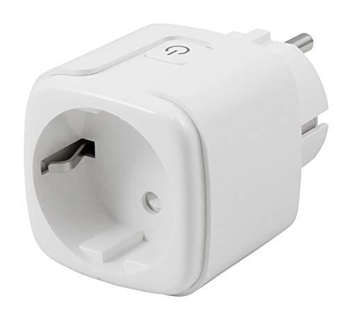 itius 1530580 WiFi stopcontact, Amazon Alexa, Google Assistant, IFTTT, afstandsbediening | App-besturing | ideaal voor slimme huisbediening, 230 V