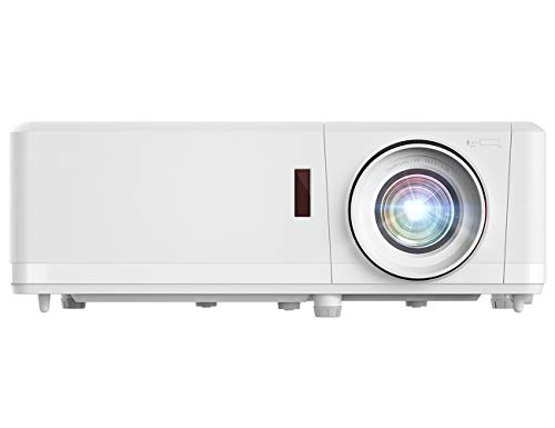 Optoma ZH406 1080p Professional Laser Projector | DuraCore Laser Light Source Up to 30,000 Hours | Crestron Compatible | 4K HDR Input | High Bright 4500 lumens | 2 Year Warranty White