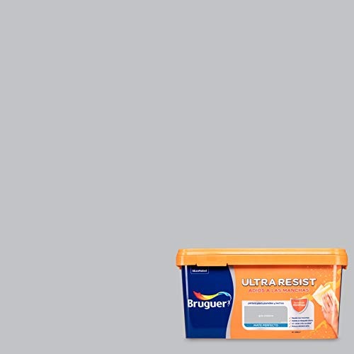 Bruguer ULTRA RESIST Pintura para paredes ultra lavable Gris Clásico 4L
