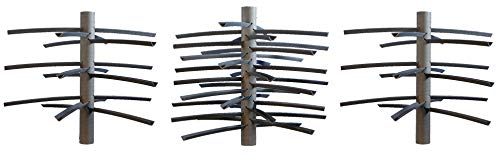 MossBack Fish Habitat Dock Pro Kit, Artificial Fish Structure, Environmentally Safe Fish Habitat for Lakes and Ponds