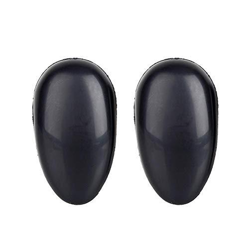 Coiffure en plastique couverture d'oreille, 10 paires de salon de coiffure réutilisable bricolage soins des oreilles bonnet d'oreille Coloration des c