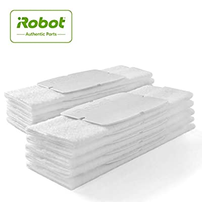 iRobot Authentic Replacement Parts- Braava jet 200 Series Dry Sweeping Pads (10-Pack),white - 4475782