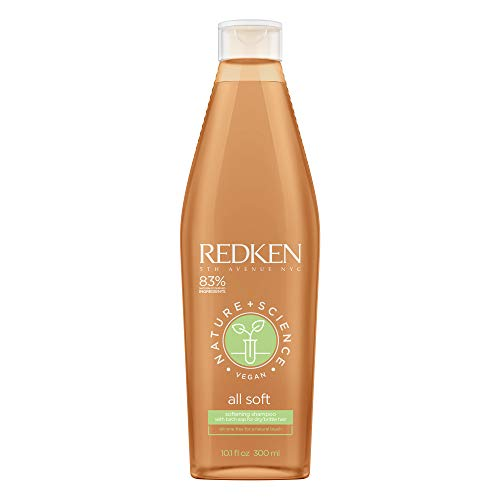 Redken Nature+Science All Soft Shampoo, 300 milliliters