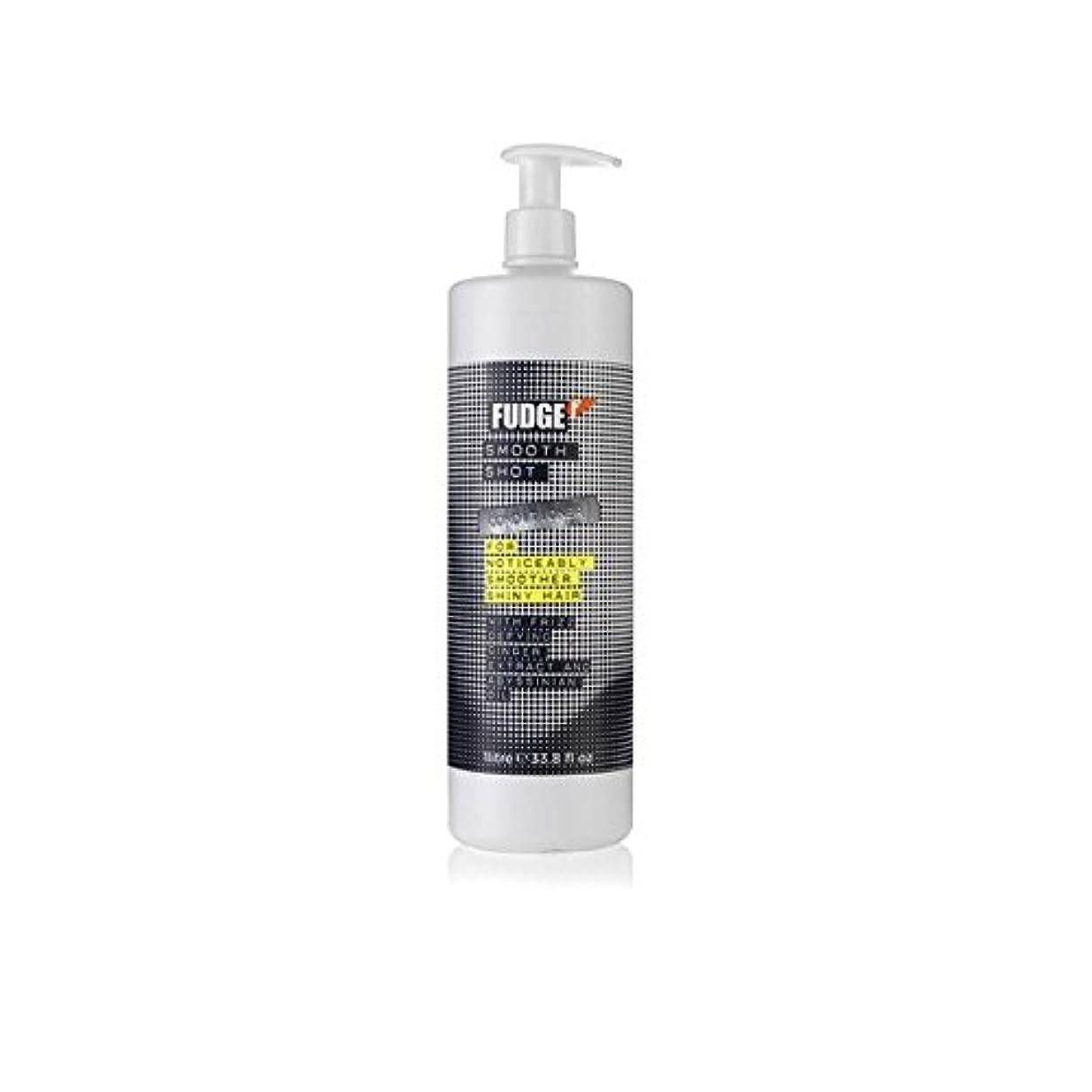 十一スリッパ環境保護主義者ファッジスムーズなショットシャンプー(千ミリリットル) x2 - Fudge Smooth Shot Shampoo (1000ml) (Pack of 2) [並行輸入品]