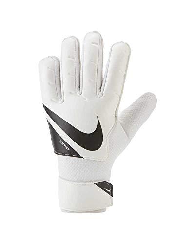 Nike Kinder Fußballhandschuhe Goalkeeper Match, White/Black/Black, 4, CQ7795-100