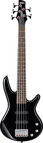 Ibanez 5 String Bass Guitar, Right, Black (GSRM25BK)