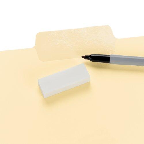 Smead Erasable SuperTab File Folder, Oversized Erasable 1/3-Cut Tab, Letter Size, Manila, 24 per Pack (10380) Photo #2