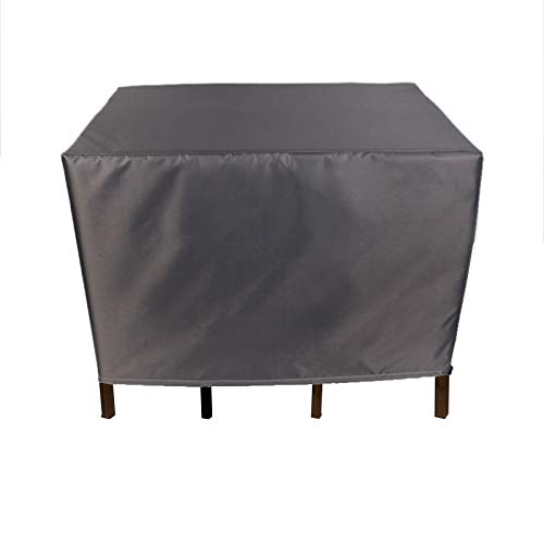 BAILR Outdoor Furniture Cover 180×119×74cm, Rechteckig Gartenmöbel Abdeckung, 420D Oxford Gewebe Staubdicht Atmungsaktiv für Gartentische Gartenstühle Und Möbelsets Wasserdicht
